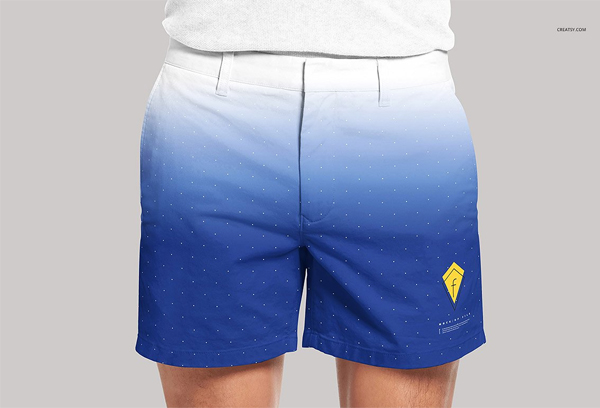 Men's Shorts Mockup Set