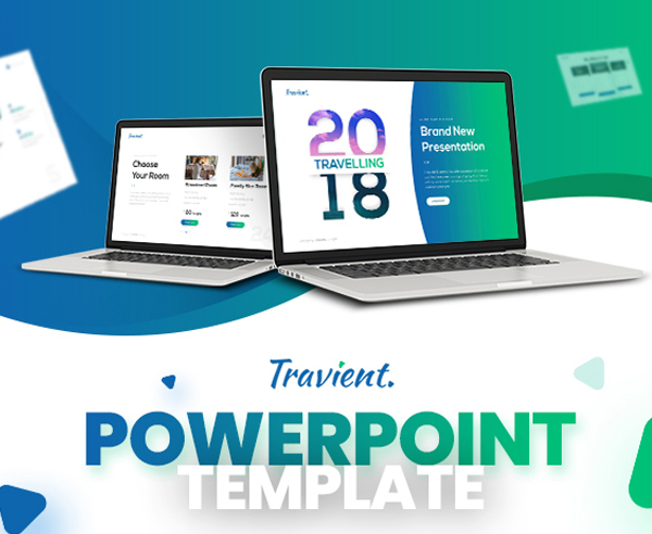 Minimalist Hotel & Travel Agency PowerPoint Template
