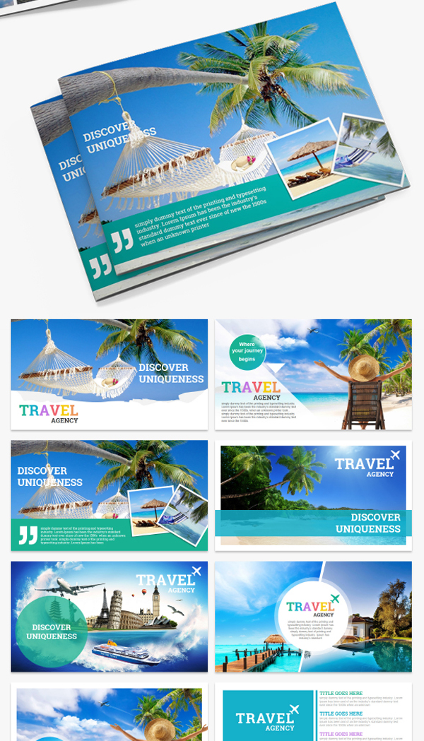 Minimalist Travel and Tourism PowerPoint Presentation Template