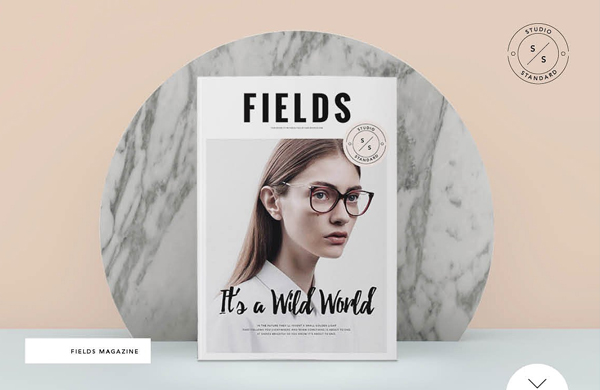 Printable Lifestyle Magazine Template