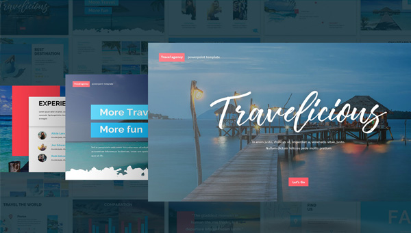 Professional Presentation Tourism Template