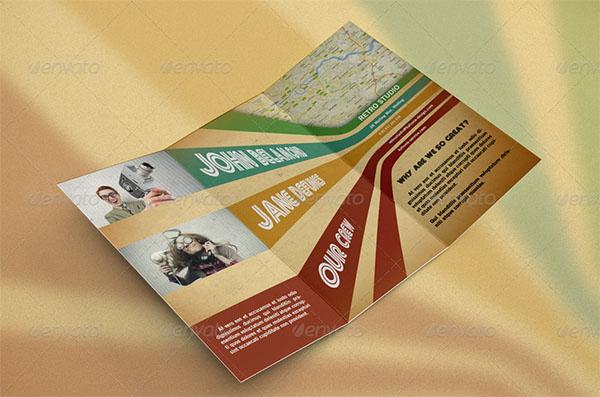 Retro Brochure Templates
