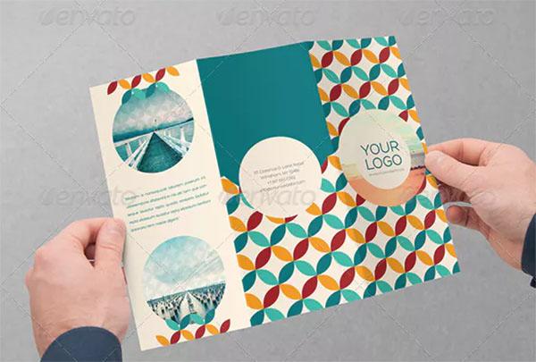 Retro Trifold Brochure Design