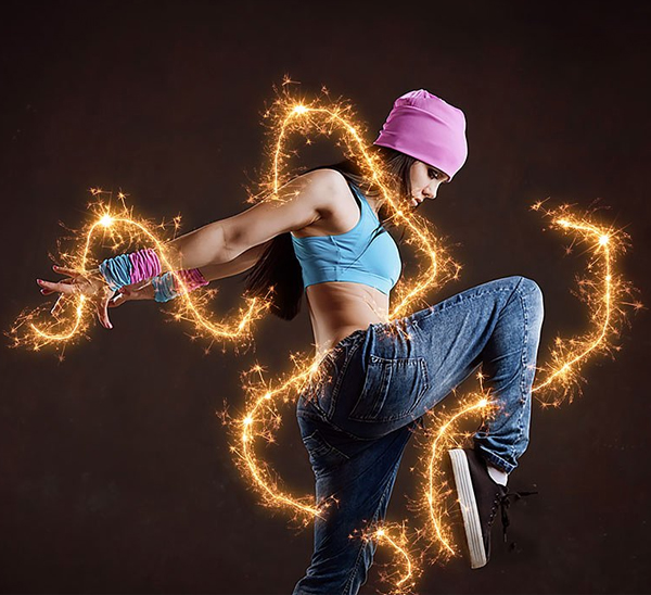 Sparkle Effect Photoshop Action
