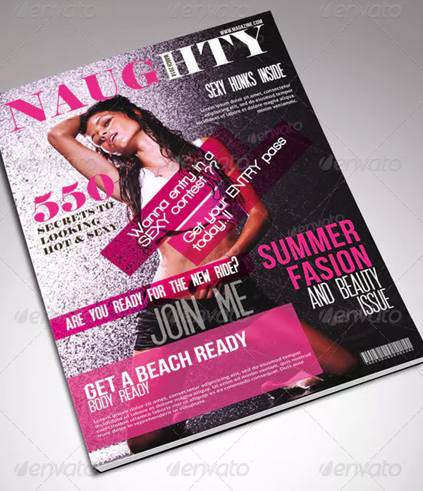 Summer Women Fashion Cover Template