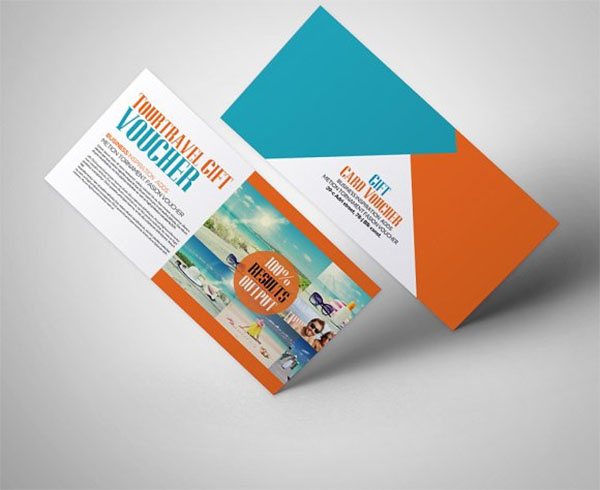 Tour Travel Gift Voucher Template Design