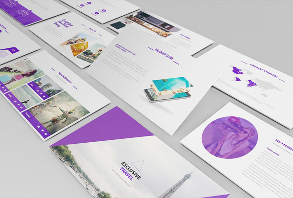 Travel Agency Business Keynote Presentation Template