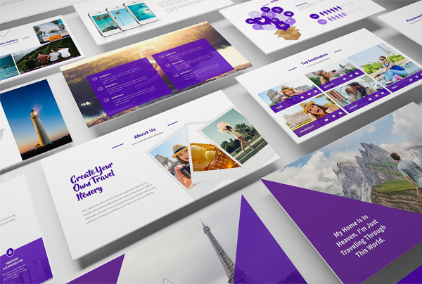 Travel Agency Google Slides Template