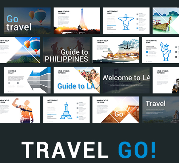 Travel Go PowerPoint Template