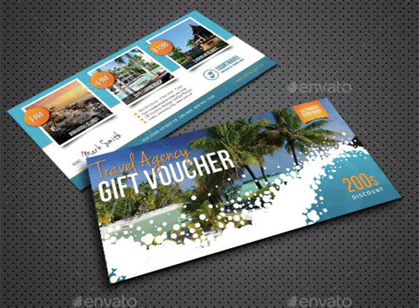 Travel Holiday Gift Voucher Bundle