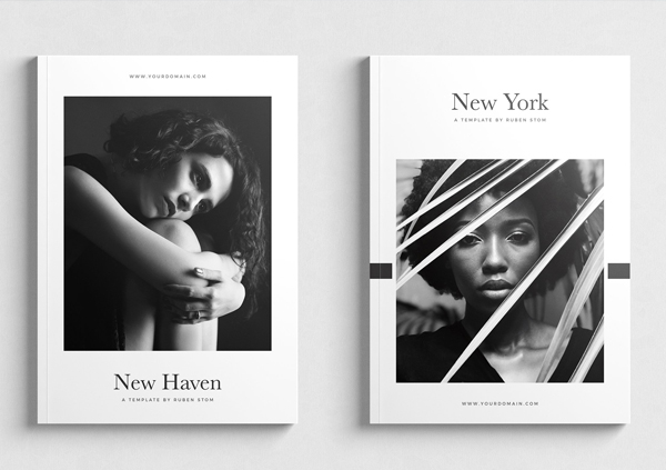 Unique Fashion Magazine Cover Design