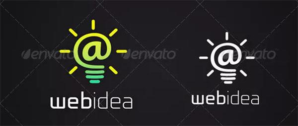Webidea Logo Template