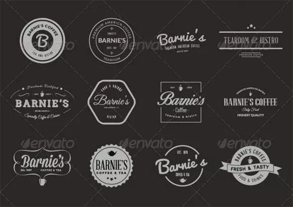 24 Old-School Logos & Badges