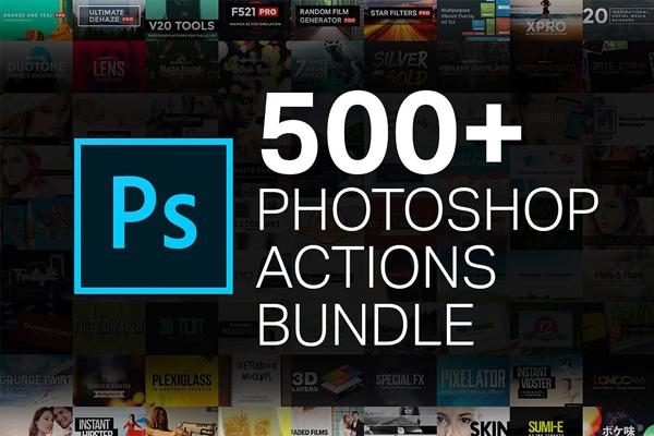 500 Photoshop Actions Bundle