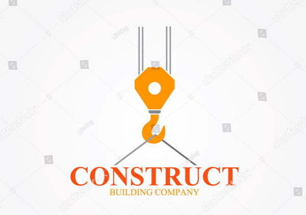 Abstract Construction Company Logo