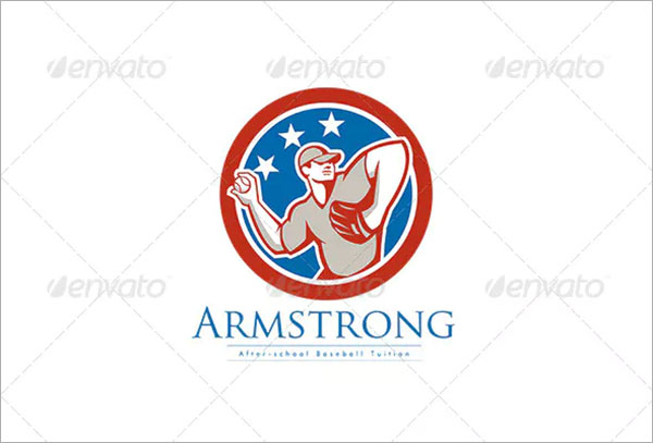 Armstrong After School Baseball Logo