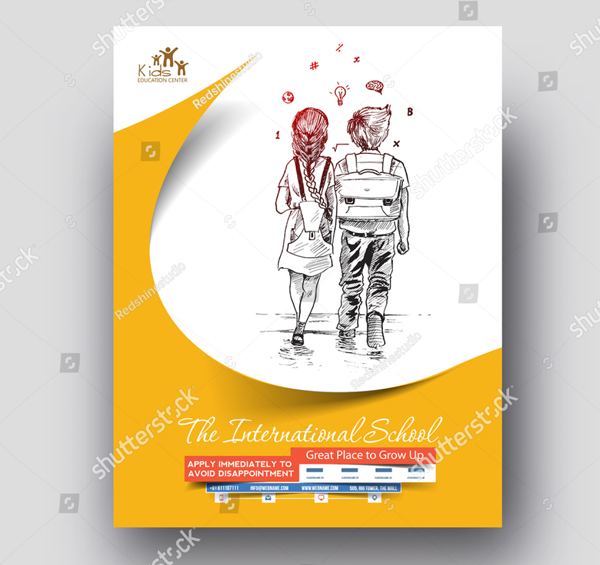 Back to School Flyer & Poster Template