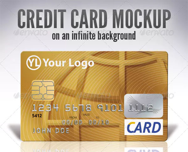 Banking Credit Card Mock-Up