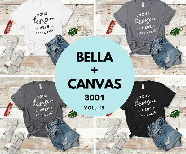 Bella Canvas Mockup Bundle