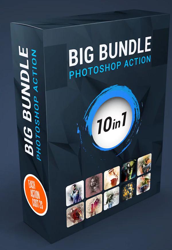 Big Bundle Photoshop Action