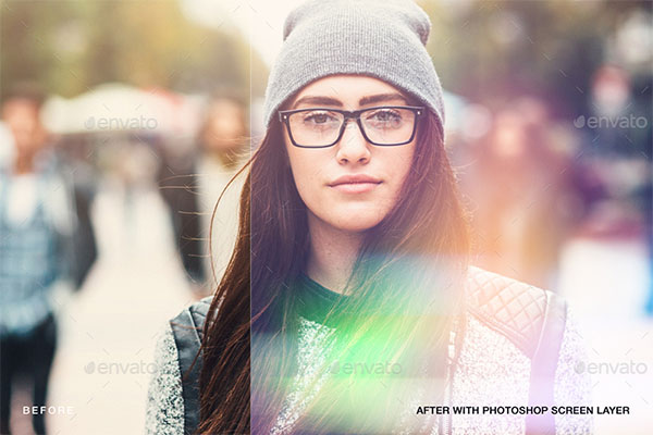 Bokeh & Light Leaks Background