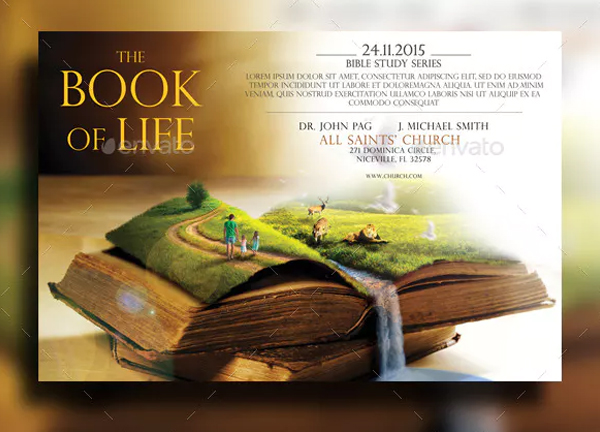 Book of Life Promotion Flyer Template