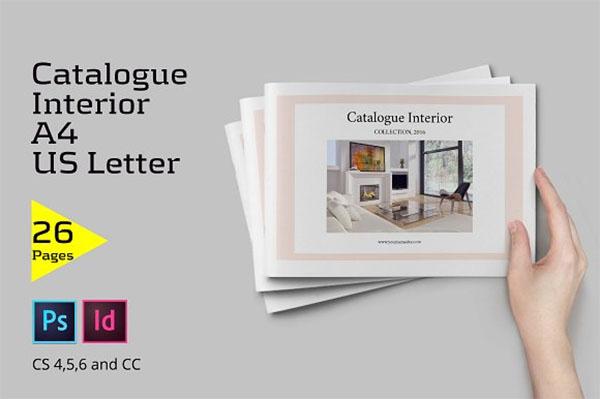 Catalogue Interior Furniture Template