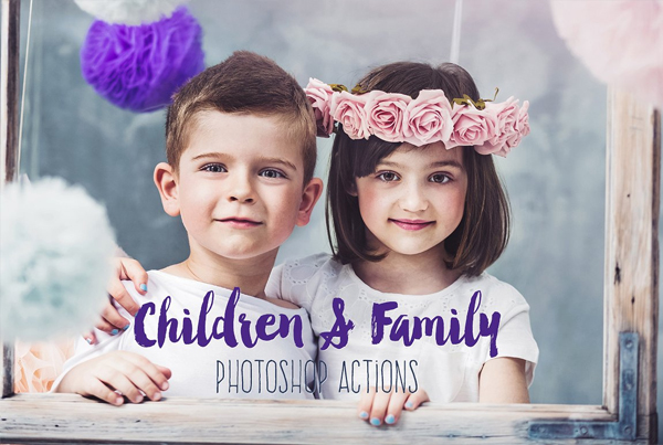 Children & Family Photoshop Actions