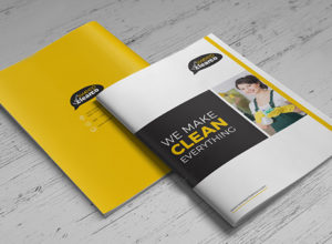 Cleaning Brochure Templates