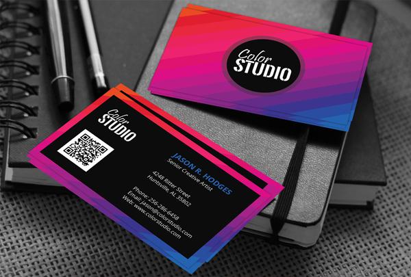 Color Studio Business Card Template