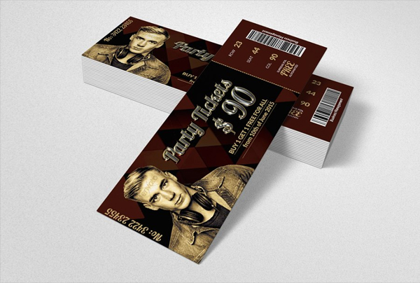 Concert Pass and Party Ticket