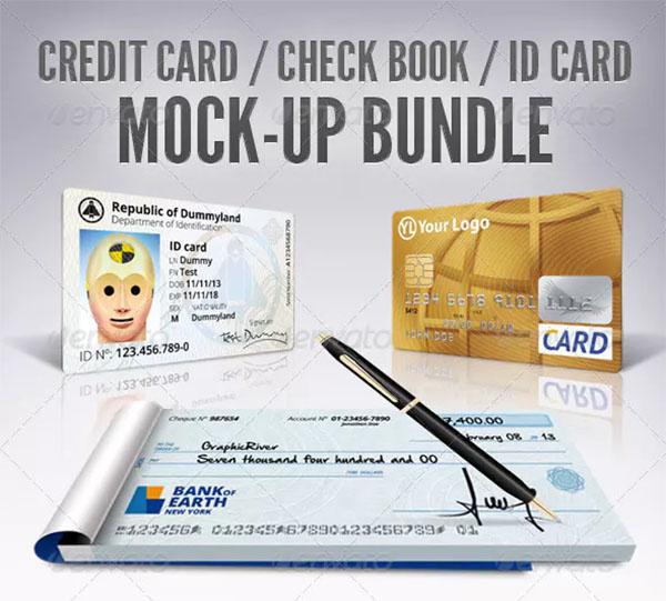 Credit Card ID Mockup Bundle