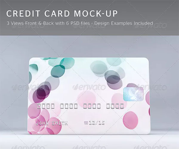 Credit Card Mock-Up Designs