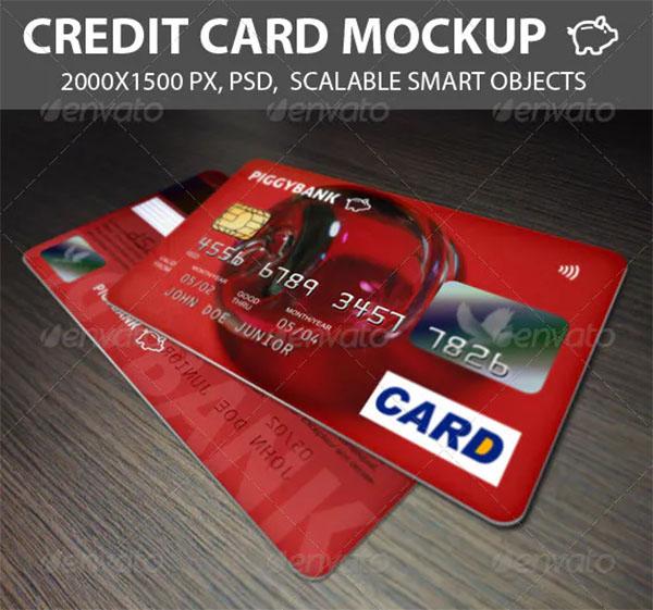 Credit Cards Mockup Design