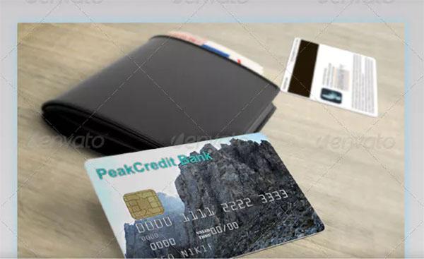 Credit, Debit and Bonus Card Mockup