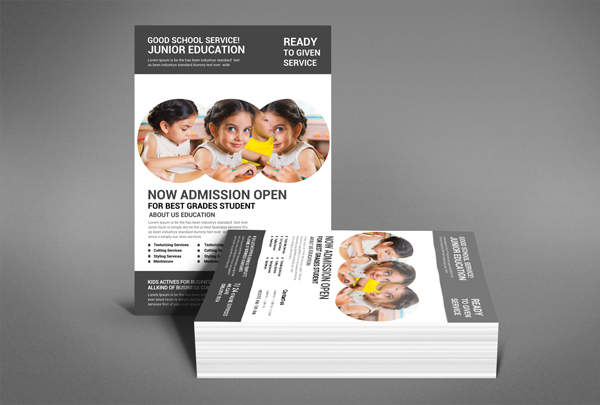 Customize School Flyer Template