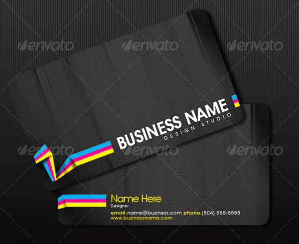 Design Studio Business Card Design