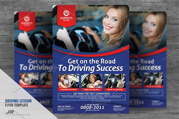 Driving Lesson Services Flyer