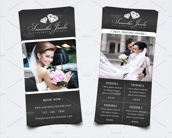 Elegant Photography Rack Card Template