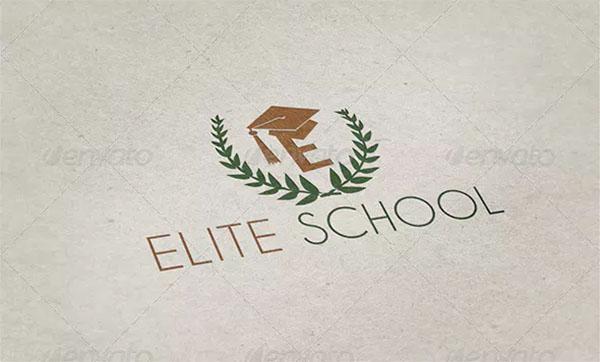 Elite School Logo Template