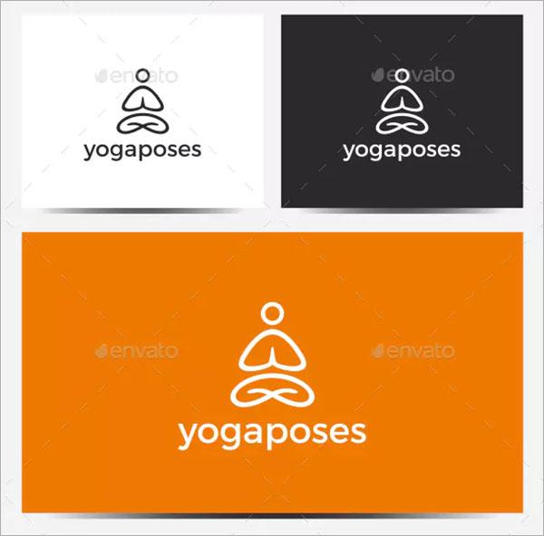 Fitness Yoga Logo