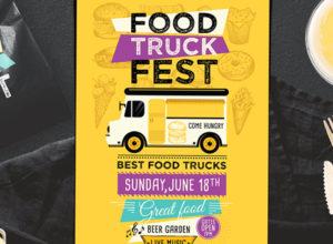 Food Truck Flyer Templates