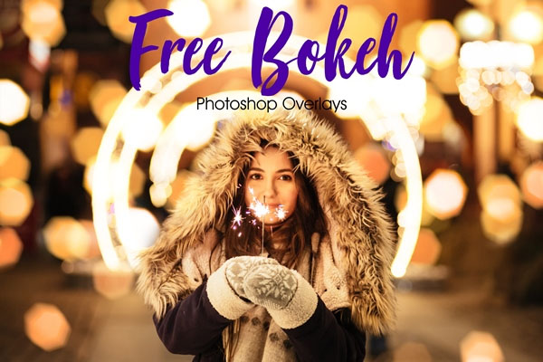 Free Bokeh Photoshop Overlays