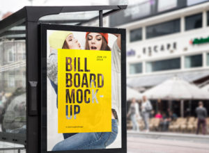 Free Bus Stop Mockups