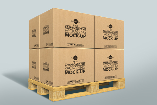 18 Free Cardboard Box Mockup Psd Templates I Templateupdates