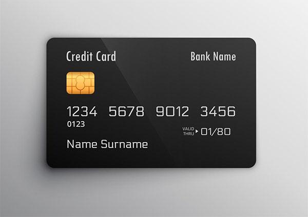 Free Download Credit Debit Card Mockup