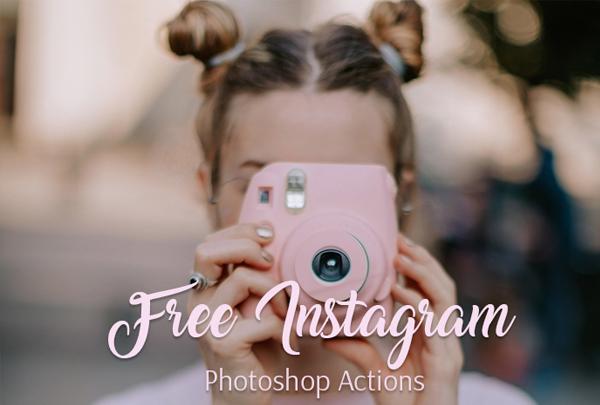 Free Instagram Photoshop Action