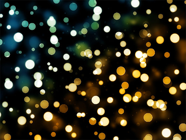 Free Night Bokeh Lights Photoshop Texture Background