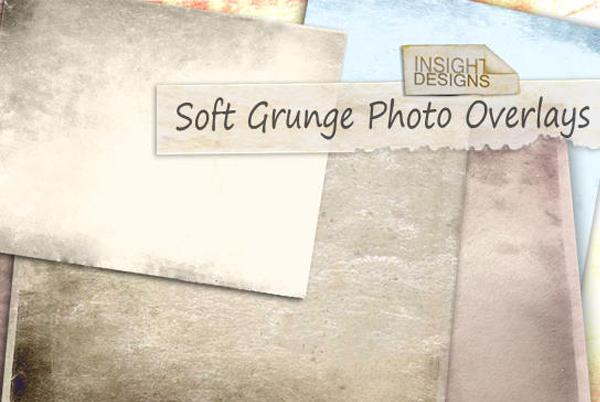 Free Soft Grunge Overlay Textures