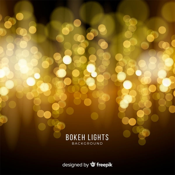 Free Vector Bokeh Lights Background